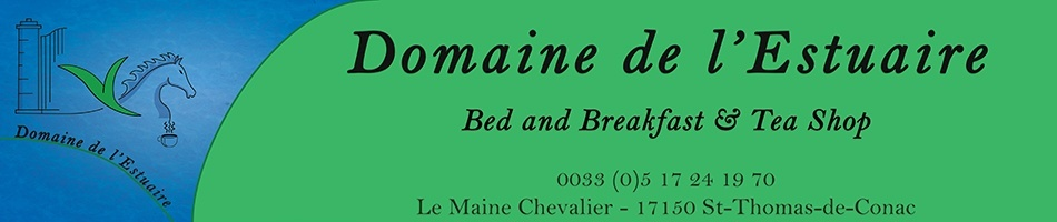 Domaine de l'Estuaire - Bed and Breakfast, Tea Shop